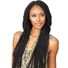 crochet hair synthetic hair crochet braids senegal bomba faux locs dread