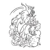 coloring lion king disney 4578