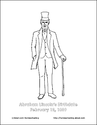 lincoln coloring pages abraham lincoln printable word search