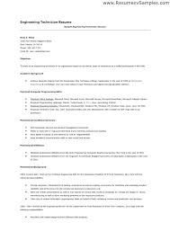 sample resume for engineers electrical engineer resume sample