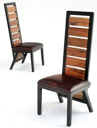 Rustic Contemporary Chairs Urban Dining Chairs Reclaimed - Wood dining chair design