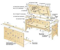 Free Wood Toy Chest Plans by How To Build A Toy Chest Plans Wooden Furniture Plans