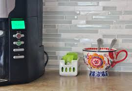 gray backsplash kitchen backsplash grey and white kitchen tiles remodelaholic grey and
