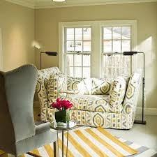 Gray And Yellow Chair Design Ideas Yellow Wingback Chair Design Ideas