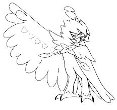 coloring pages pokemon decidueye drawings pokemon