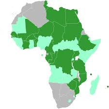 Sub Saharan Africa Map Quiz by Bamako Convention Wikipedia