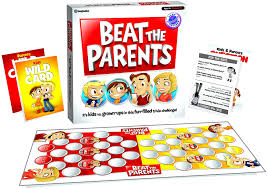 amazon com beat the parents board game toys u0026 games