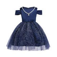 online get cheap kids blue pageant dress aliexpress com alibaba