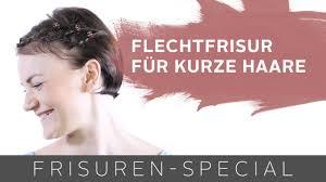 Frisuren Dirndl Anleitung by Geflochtene Dirndl Frisur Für Kurze Haare Two For Fashion
