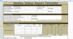 weekly progress report template project management free project management templates project management