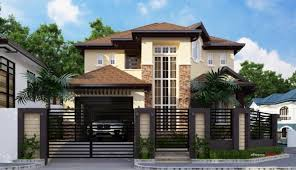 residential home design proposed 2 storey residential house home design