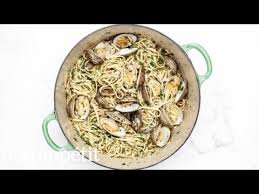 linguine and clams from the test kitchen bon appetit youtube