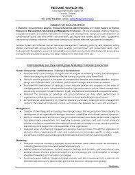Resume Samples For Marketing Jobs by Entry Level Marketing Resume Berathen Com