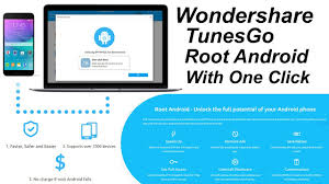 why root android wondershare tunesgo root android with one click 2017 android