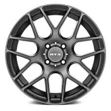 subaru crosstrek custom wheels rtx envy wheels black with machined bronze face rims 082060 h