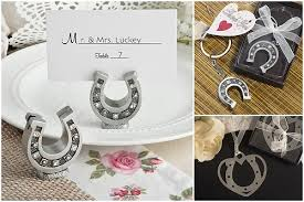 horseshoe party favors western wedding inspiration hotref party gifts