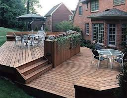 Backyard Decking Ideas by 135 Best Multilevel Deck And Porch Ideas Images On Pinterest