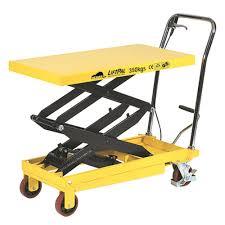 Hydraulic Scissor Lift Table by Scissor Lift Trolley 140 Scissor Lift Trolley Bunnings Hydraulic