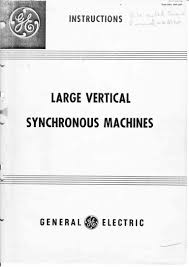 geh 527 large vertical synchronous machines general electric
