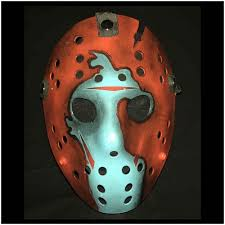 Jason Halloween Mask by Deluxe Jason Hockey Mask Part 8 Poster Version Mad About Horror