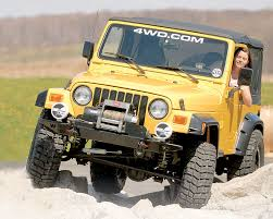 offroad jeep cj jeep wrangler tj returned to the classic round headlights of the