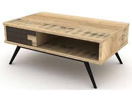 pied de canapé conforama table basse rectangulaire ethnica coloris gris noir pieds en