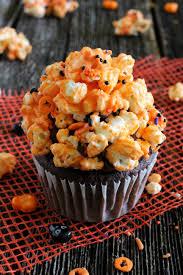 chocolate popcorn halloween cupcakes marisa u0027s italian kitchen