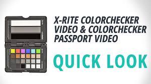 x rite colorchecker passport video msccppvc b u0026h photo video