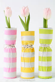 fabric covered spring vases i heart nap time