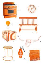 orange paint colors orange home accessories