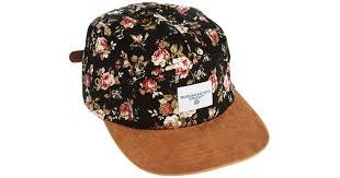floral snapback lyst asos profound aesthetic floral snapback cap