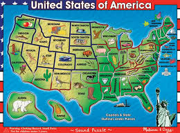 usa map puzzle for toddlers 126 best usa maps images on school united states and maps