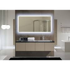 Bathroom Mirrors Overstock Ib Mirror Rectangle Backlit Bathroom Mirror Overstock