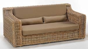 canapé en osier canape osier canap en osier naturel achat vente fauteuil jardin