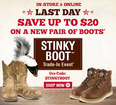 Boot Barn Coupon Codes Bootbarn Com Ends Today Say Goodbye To Your Stinky Boots Milled