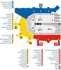 miami airport terminal map fort lauderdale airport map my
