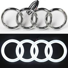 lexus glowing emblem amazon com jetstyle audi a3 a4 a5 a6 led emblem front car grill