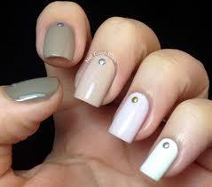 nail polish wars studded ombré