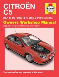 citroen c5 haynes repair manual haynes manual service manual