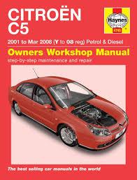 citroen c5 haynes repair manual haynes manual service manual
