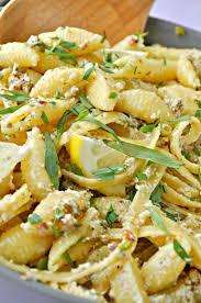 vegan tuna tarragon pasta salad rabbit and wolves