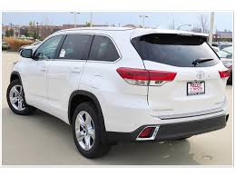 New 2017 Toyota Highlander Limited 4d Sport Utility In Crystal