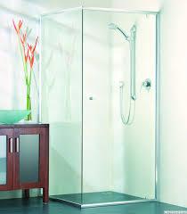 shower screens gold coast frameless semi frameless framed custom glass 90 degree semi frameless shower screen door and return panel