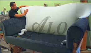 Cost To Reupholster A Sofa Diy How To Reupholster A Sofa Alo Upholstery Youtube