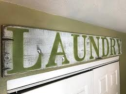 Laundry Room Decor Signs Wooden Laundry Sign Mjex Co