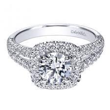 white engagement rings images 14k white gold diamond halo engagement ring jpg