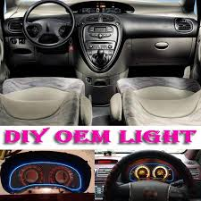 nissan cube interior lights car atmosphere light flexible neon light el wire interior light