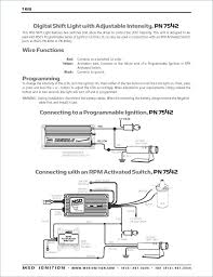 msd programmable digital shift light msd 6420 wiring diagrams jobdo me