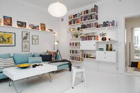 Beautiful  Efficient Design In A One Room Apartment Freshomecom - Swedish apartment design