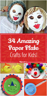 34 amazing paper plate crafts for kids tip junkie
